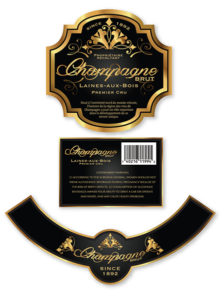 Champagne Brut – Black