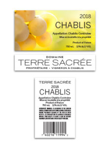 Terre Sacree French – White Chablis